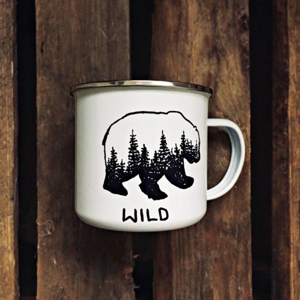 Kubek leśny niedźwiedź