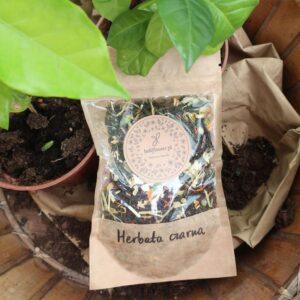 Herbata czarna z trawą cytrynową